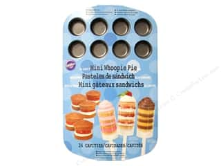 Non-Sticking Sheets 4 oz: Wilton Mini Whoopie Pie Baking Pan 24-Cavity