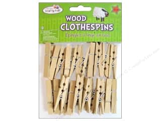Kid Crafts $7 - $74: Craft Medley Mini Clothespin 1 x 7/8 in. Natural 24 pc.