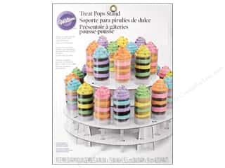 Stands Acrylic Stands / Plastic Stands: Wilton Containers Treat Pops Stand 2 Tier