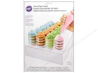 Stands Acrylic Stands / Plastic Stands: Wilton Containers Treat Pops Stand Rectangle 1 Tier