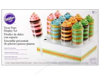 Baking Wraps / Cupcake Wrappers: Wilton Treat Pops Display Set with Stand 12 pc.