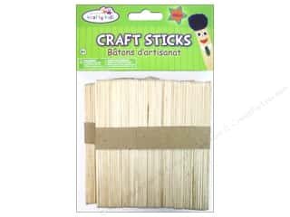 Kids Crafts $2 - $3: Craft Medley Craft Sticks 4 1/2 in. 100 pc.