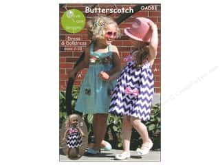 "Patterns 10"": Olive Ann Butterscotch Dress Size 2-10 Pattern"