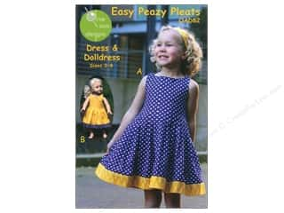 Easy Peazy Pleats Dress Size 3-8 Pattern