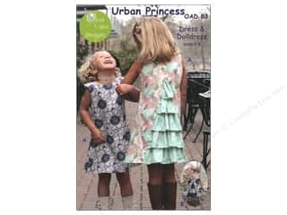 Urban Princess Dress Size 2-8 Pattern