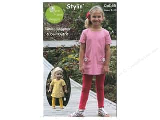 Patterns $8 - $10: Olive Ann Stylin' Tunic & Leggings Size 3-8 Pattern