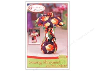 Yesterday's Charm Home Decor Patterns: Vanilla House Sewing Shrooms! Pattern