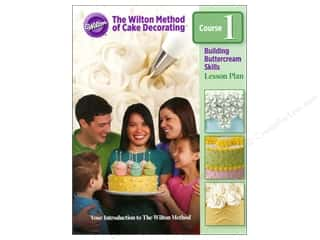 Cooking/Kitchen Books & Patterns: Wilton Wilton Method Cake Decorating Course 1 Book
