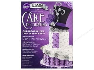 Cooking/Kitchen Books & Patterns: Wilton 2014 Yearbook Of Cake Decorating Book