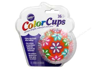 Wilton Baking Cup Colorcups Flowers 36pc