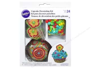 Wilton Decorations Cupcake Decorating Kit Flr 48pc