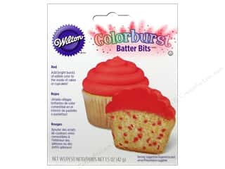 Wilton Batter Bits Colorburst Red 1.5oz