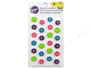 Cooking/Kitchen Flowers: Wilton Edible Decorations Icing Mini Flower