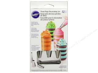 Stars Cooking/Kitchen: Wilton Treat Pops Decorating Set 12 pc.