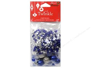 Jewelry Making Supplies Holiday Sale: Sweet Beads Twinkle Bead Christmas Mix Blue 90gr