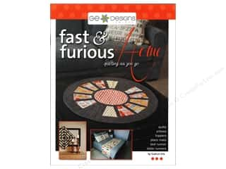 G.E. Designs Clearance Patterns: G.E.Designs Fast & Furious Home Book by Gudrun Erla