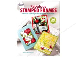 "Books & Patterns 11"": Annie's Fabulous Stamped Frames Book by Melanie Muenchinger"