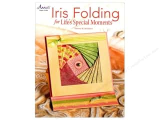 Annies Attic 8 1/2 in: Annie's Iris Folding For Life's Special Moments Book by Sharon M. Reinhart