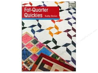 Annies Attic Fat Quarter / Jelly Roll / Charm / Cake Books: That Patchwork Place Fat-Quarter Quickies Book by Kathy Brown