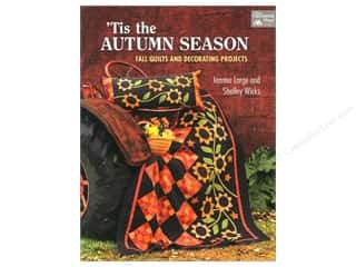 Autumn Leaves $10 - $20: That Patchwork Place Tis the Autumn Season Book by Jeanne Large and Shelley Wicks