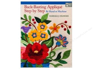 Back Basting Applique Step By Step Book