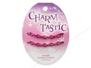 Bracelets Jewelry Making: Janlynn Charmtastic Charm Bracelet Pink (3 pieces)
