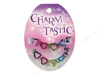 Charms Hearts: Janlynn Charmtastic Charm Bracelet Heart (3 pieces)