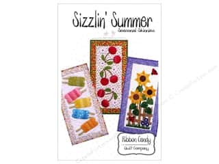 June Tailor Home Decor: Ribbon Candy Quilt Sizzlin' Summer Skinny Pattern