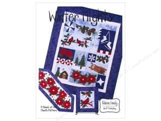 Winter Sewing & Quilting: Ribbon Candy Quilt Winter Nights Block Of The Month Pattern