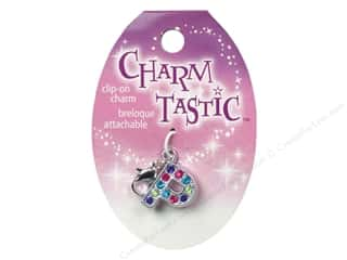 Beading & Jewelry Making Supplies ABC & 123: Janlynn Charmtastic Clip-On Charm Letter P (3 pieces)