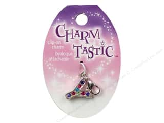 Y: Janlynn Charmtastic Clip-On Charm Letter Y (3 pieces)