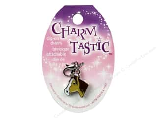 Charms and Pendants Brown: Janlynn Charmtastic Clip-On Charm Horse (3 pieces)