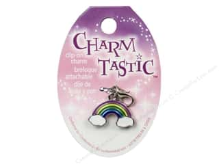 Charms New: Janlynn Charmtastic Clip-On Charm Rainbow (3 pieces)