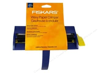 Papers: Fiskars Paper Crimper Wavy