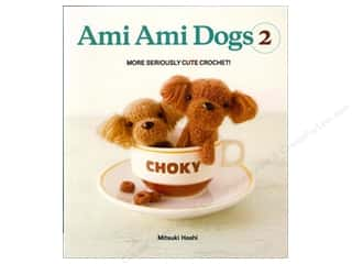 Harper Collins Needlework Books: Harper Collins Ami Ami Dogs 2 Book by Mitsuki Hoshi