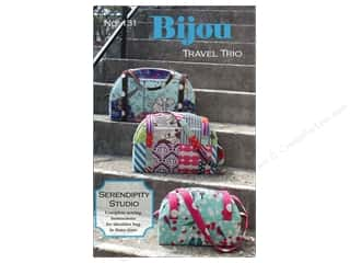 Tote Bag $10 - $15: Serendipity Studio Bijou Travel Trio Pattern
