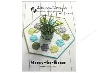 Table Runners / Kitchen Linen Patterns: Merry Go Round Pattern
