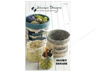 home decor pattern: Atkinson Designs Bucket Brigade Pattern