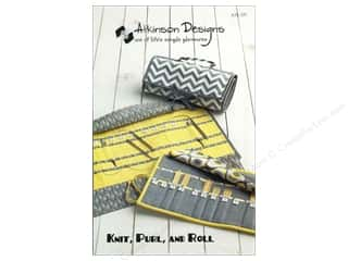 By Annie Purses, Totes & Organizers Patterns: Atkinson Designs Knit, Purl, and Roll Pattern