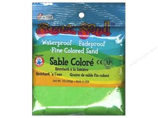 Scenics Kids Crafts: Activa Scenic Sand 1 lb. Light Green