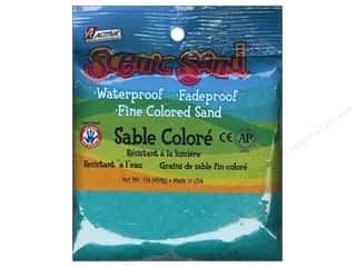 Scenics Crafts with Kids: Activa Scenic Sand 1 lb. Turquoise
