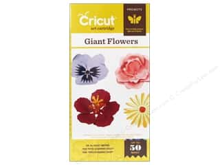Cartridges: Provo Cricut Cartridge Giant Flower