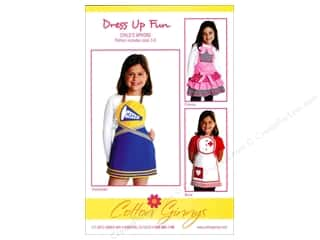 Cotton Ginny's Table Runner & Kitchen Linens Patterns: Cotton Ginnys Dress Up Fun Child's Apron Pattern