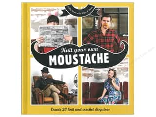 Findings Brown: Collins & Brown Knit Your Own Moustache Book by Vicky Eames
