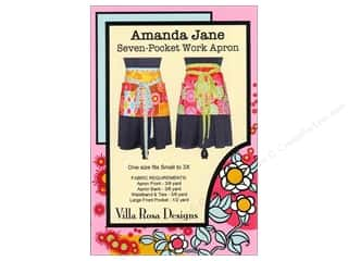 Sweet Jane Quilting Designs: Villa Rosa Designs Amanda Jane Seven-Pocket Work Apron Pattern