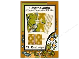 Sweet Jane Quilting Designs: Villa Rosa Designs Catrina Jane 2-Pocket Card Holder Pattern