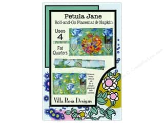 Napkins: Villa Rosa Designs Petula Jane Roll-and-Go Placemat & Napkin Pattern