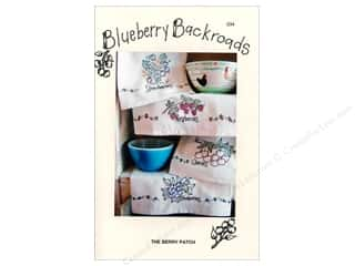 Blueberry Backroads Borders: Blueberry Backroads The Berry Patch Pattern
