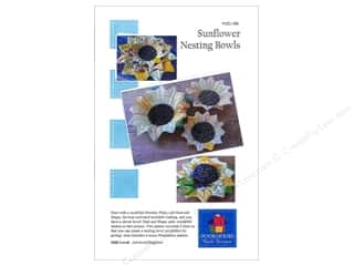 Poorhouse Quilt Design Sunflower Nesting Bowls Pattern