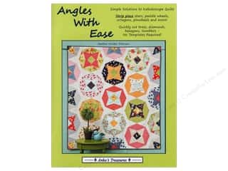 Fat Quarters Books: Anka's Treasures Angles With Ease Book by Heather Mulder Peterson